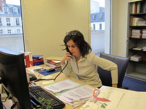 Sandrine Vérité - bureau