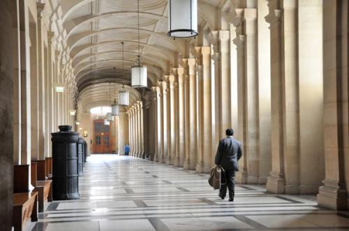 Couloirs Palais de justice