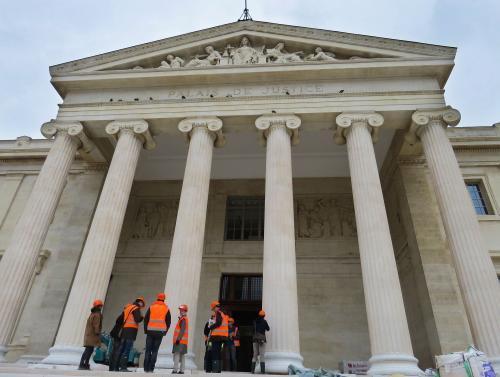 Le palais de justice Monthyon